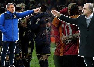 Kadıköy'de dev randevu! İşte Fenerbahçe ve Galatasaray'ın ilk 11'i