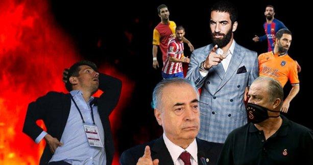 Galatasaray'da Arda Turan kararı çıktı! Fatih Terim...