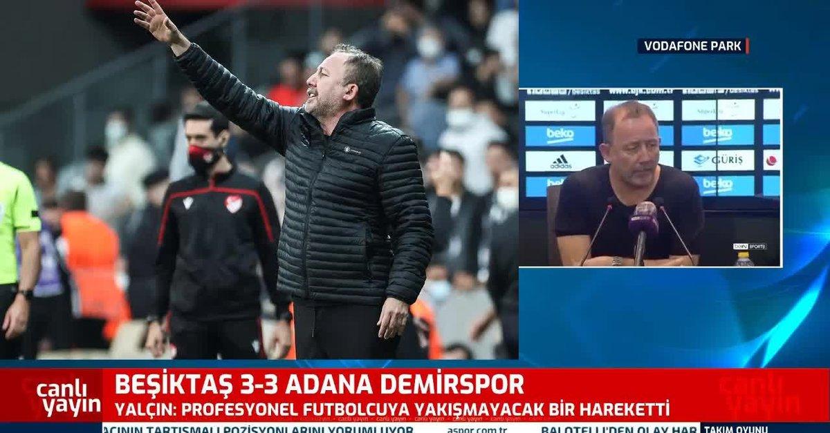 Sergen Yalçın A.Demirspor maçı sonrası konuştu!