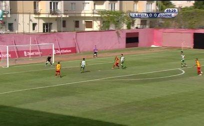 Sultanbeyli Belediyespor 0-1 Edirnespor