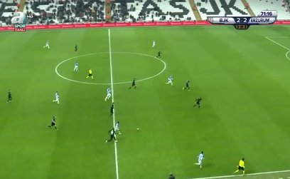Beşiktaş 2-3 BB Erzurumspor
