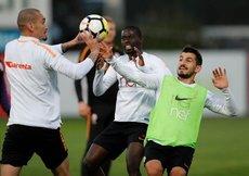 Galatasarayda derbi hazırlıkları devam ediyor