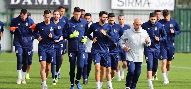 F.Bahçe'de Anderlecht hazırlıkları devam ediyor