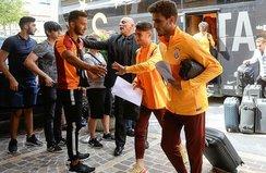 Galatasaray kafilesi Avusturya'da