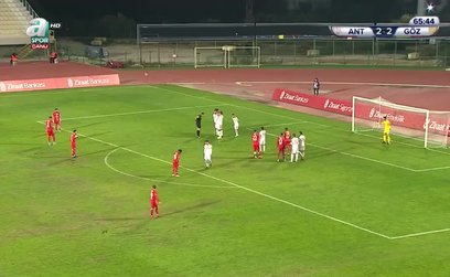 Antalyaspor 3-2 Göztepe