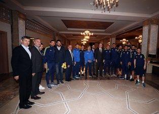 Numan Kurtulmuştan Fenerbahçeye ziyaret