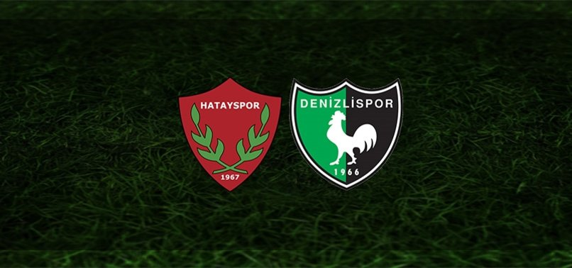 Hatayspor - Denizlispor maçı ne zaman, saat kaçta ve hangi kanalda?   Süper Lig