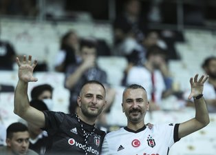 Son dakika spor haberleri: Beşiktaş Çaykur Rizespor maçıyla 1.5 yıl aradan sonra taraftarına kavuştu!