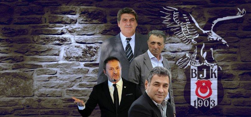 Beşiktaş'ta başkan adayları sahaya iniyor