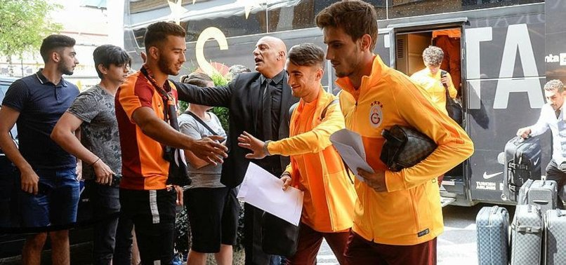 Galatasaray kafilesi Avusturya'da