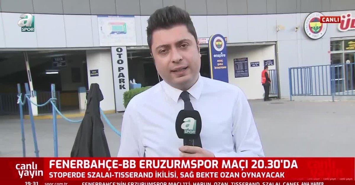 Serdar Aziz Erzurum maçı kadrosuna alınmadı
