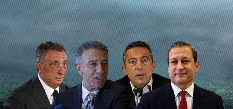 Tarihi buluşma gerçekleşti! Beşiktaş, Fenerbahçe, Galatasaray ve Trabzonspor başkanları bir araya geldi