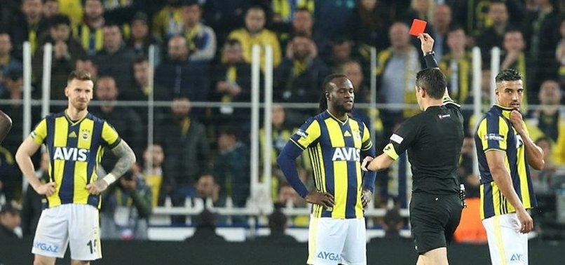 Fenerbahçe'de kırmızı kart şoku!