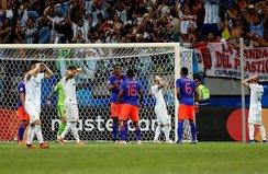 Kolombiya Arjantin'i beğendi