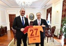 G.Saraydan Abdulhamit Gül ve Murat Kuruma ziyaret