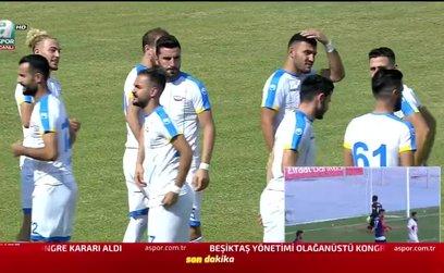 Kırıkkale Büyük Anadoluspor 0-3 Gazişehir Gaziantep