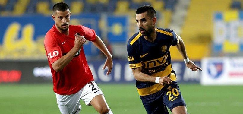 Ankaragücü 0-1 Gaziantep FK (MAÇ SONUCU-ÖZET)