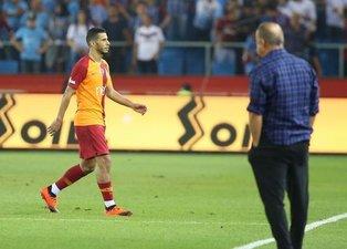 Galatasaray taraftarı çıldırdı: Defol git Belhanda