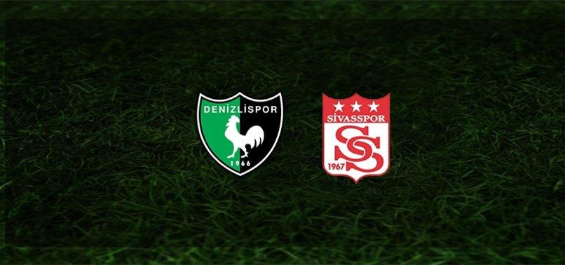 Denizlispor-Sivasspor maçı ne zaman, saat kaçta ve hangi kanalda? | Süper Lig