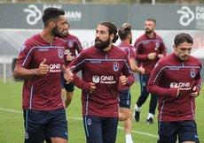 Trabzonsporda Göztepe maçının hazırlıkları