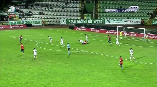 Giresunspor 2-0 Kocaelispor