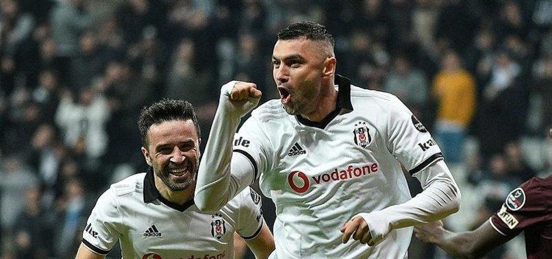 Burak Beşiktaş'taki 2. döneminde parlıyor