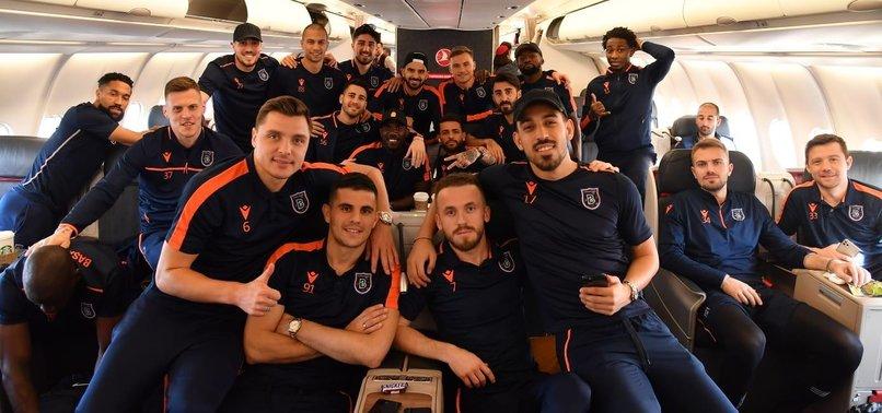 Temsilcimiz Medipol Başakşehir UEFA Avrupa Ligi maçı için ...