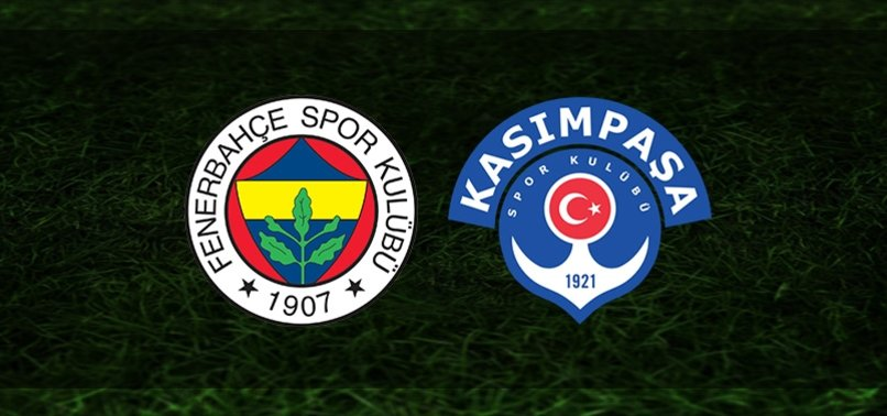 Fenerbahçe-Kasımpaşa   CANLI