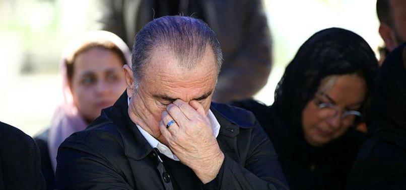 Fatih Terim'in duygusal anları! Gözyaşlarına hakim olamadı