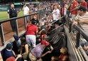 Beyzbol maçında korku dolu anlar! Silah sesleri yükseldi