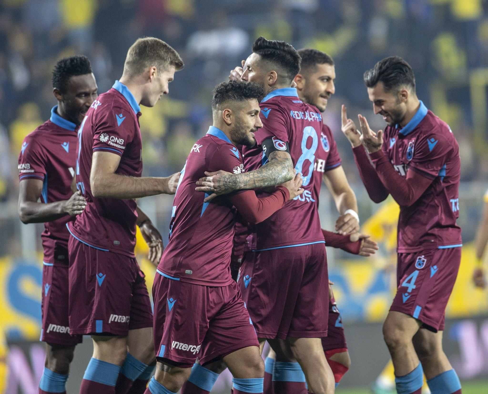 MAÇ SONUCU l Ankaragücü 0 - 3 Trabzonspor l ÖZET - Aspor