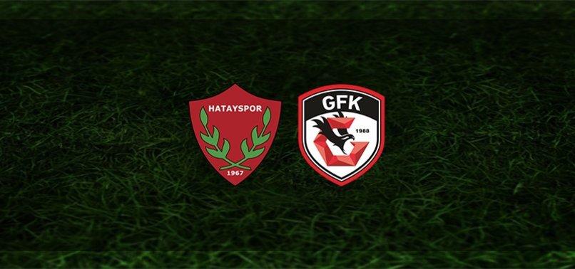 Hatayspor - Gaziantep FK maçı ne zaman, saat kaçta ve hangi kanalda? | Süper Lig