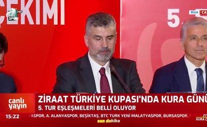 Ziraat Türkiye Kupası 5.tur eşleşmeleri belli oldu!