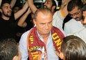 Galatasaray kafilesi başkentte