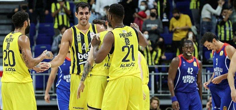 Fenerbahçe Beko 90-68 Anadolu Efes (MAÇ SONUCU-ÖZET)   F.Bahçe Beko A. Efes'i farklı geçti!