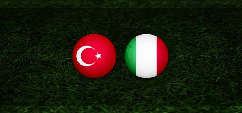 Türkiye - İtalya   İlk 11'ler belli oldu