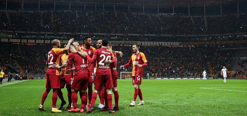 Galatasaray şampiyonluk yürüyüşüne yeniden başladı