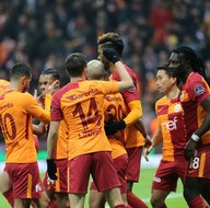 Galatasaray-Antalyaspor karşılaşmasından kareler