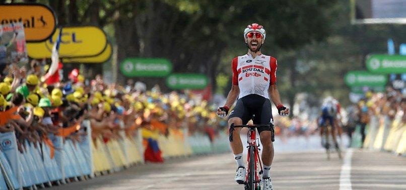 Fransa Bisiklet Turu'nda sekizinci etap tamamlandı