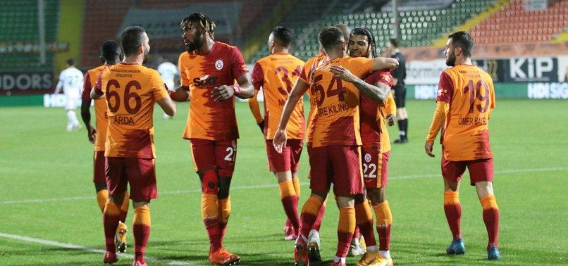 Galatasaray'dan, Alanya: 0-1 ile ilgili görsel sonucu