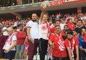 Antalyaspor taraftarından Etooya şok protesto