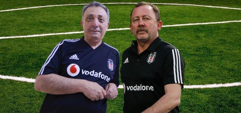 Beşiktaş'ta Ahmet Nur Çebi ve Sergen Yalçın'dan kritik görüşme! İşte konuşulanlar