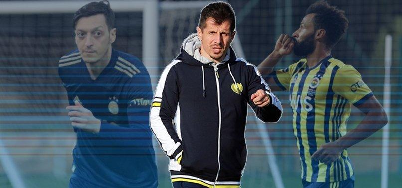 Fenerbahçe Başakşehir hazırlıklarına başladı! Mesut Özil ve Nazım Sangare...