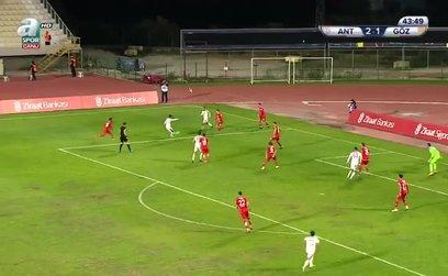Antalyaspor 2-2 Göztepe