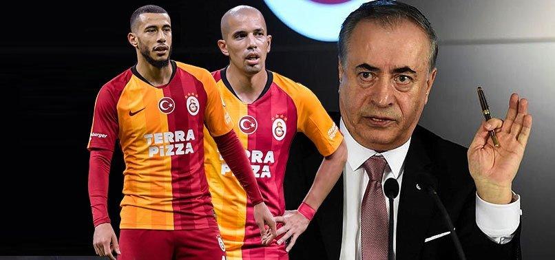 Galatasaray'da Mustafa Cengiz'i çıldırtan hamle! Feghouli ve Belhanda'nın yaptıkları ortaya çıktı