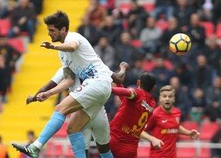 Trabzonspor Kayseri deplasmanından 1 puanla döndü