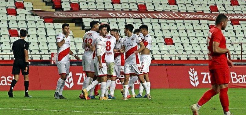 Antalyaspor Pendikspor: 2-0 (MAÇ SONUCU - ÖZET)