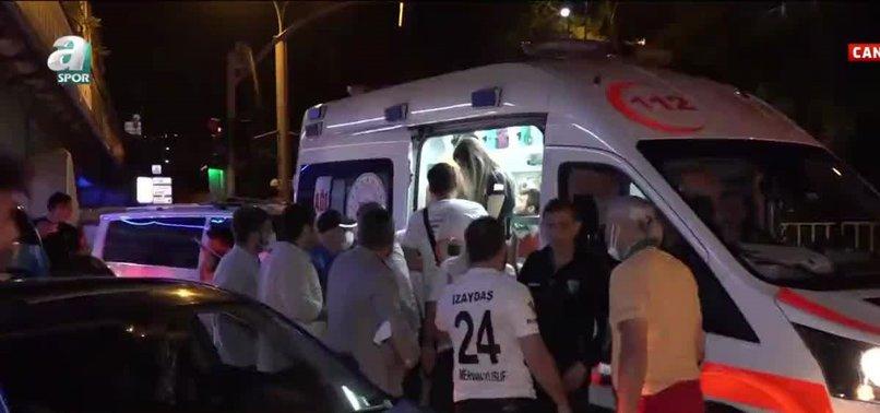Kocaelispor kutlamalarında talihsiz kaza! İki futbolcu yaralandı