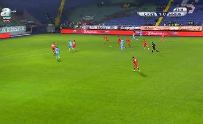 Çaykur Rizespor 2-0 Yılport Samsunspor