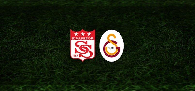 Sivasspor - Galatasaray maçı ne zaman? Saat kaçta ve hangi kanalda?   Süper Lig